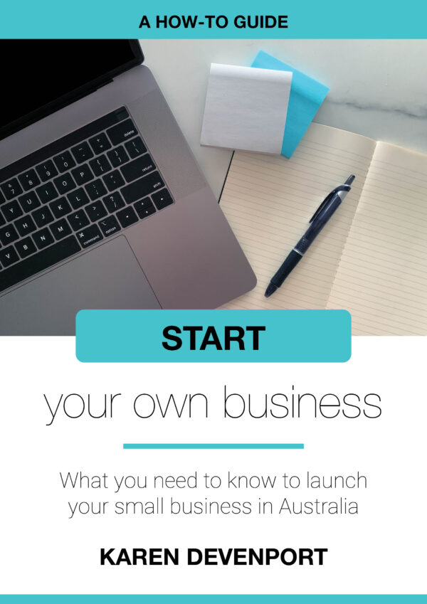 Start your own business - ebook cover