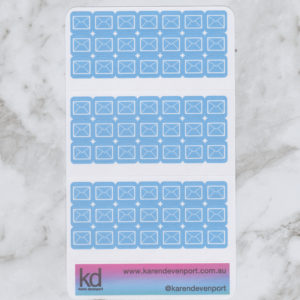 Mail envelope icon stickers