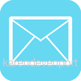 Mail envelope icon sticker