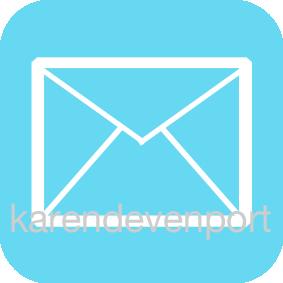 Mail envelope icon sticker