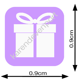 Gift Present Birthday icon sticker
