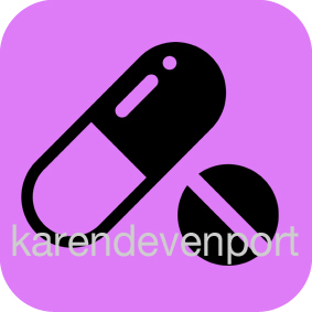 Medication Pill Tablet icon sticker