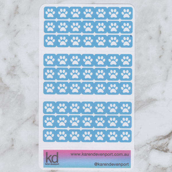 Pawprint Pet Animal icon stickers